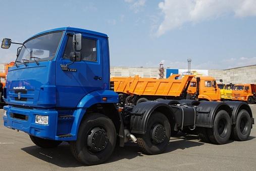ШАССИ KAMAZ-6540-48 (А5)