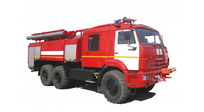 Аэродромный пожарный автомобиль АА-8,0/(30-60) (43118) |СПЕЦТЕХНИКА КАМАЗ В РК