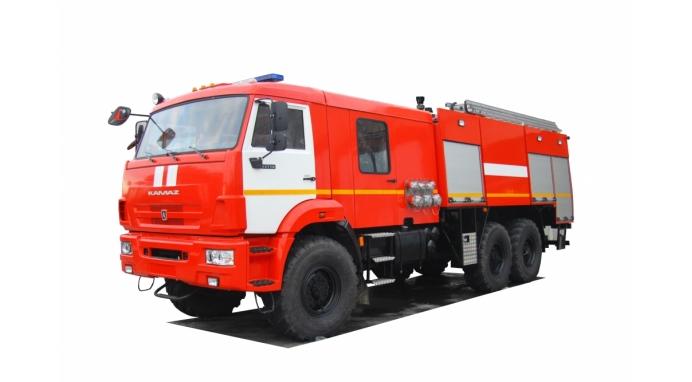 Автоцистерна пожарная АЦ 5,0-100 на базе КАМАЗ-43118 с насосом в кабине |СПЕЦТЕХНИКА КАМАЗ В РК