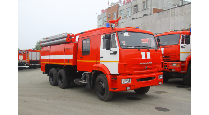 Автоцистерна пожарная АЦ 7,0 на базе КАМАЗ-65115