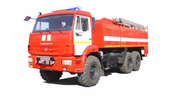 Автомобиль пенного тушения АПТ 9,0 на базе КАМАЗ-43118