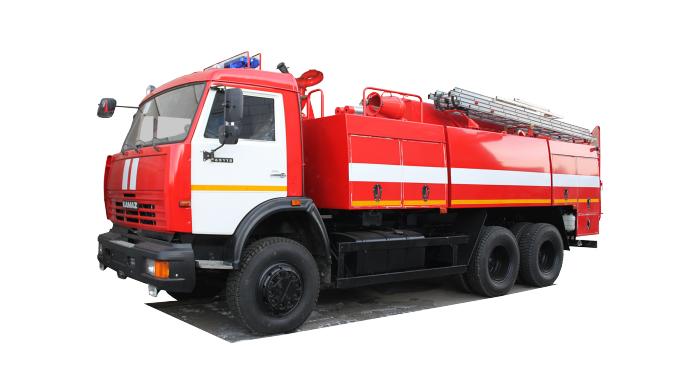 Автоцистерна пожарная АЦ 8,0 на базе КАМАЗ-65115