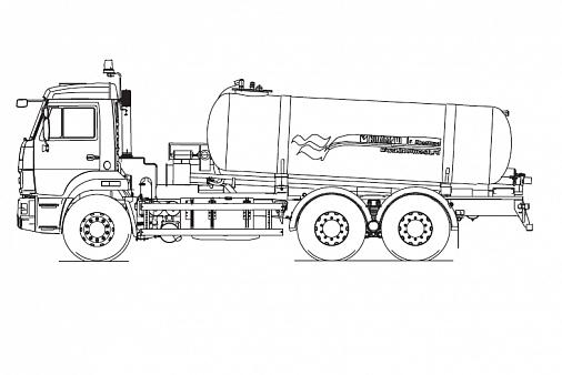 Вакуумная машина КО-505А |КОММУНАЛЬНАЯ ТЕХНИКА В РК
