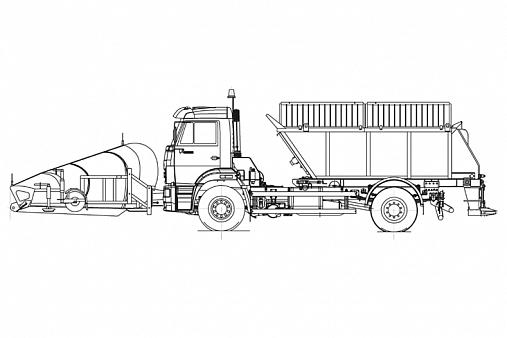 Комбинированная дорожная машина ДМК-50