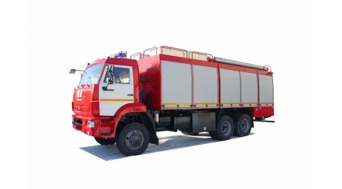 Насосно-рукавный автомобиль АНР 100-3,0 на базе КАМАЗ-65111