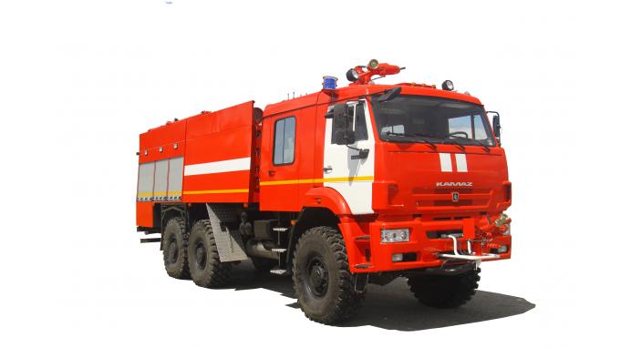 Аэродромный пожарный автомобиль АА-9,0/(30-60) (65224)|ПОЖАРНЫЕ АВТОМОБИЛИ КАМАЗ