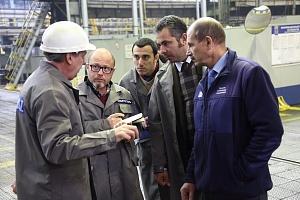 На кузнечном заводе «КАМАЗа» (входит в Госкорпорацию