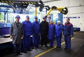 Прессово-рамный завод «КАМАЗа» увеличивает количество своих эталонный участков. Ещё один на днях по