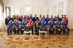 В Казанском Кремле состоялась встреча президента