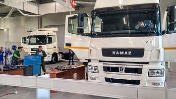 Торгово-финансовая компания «КАМАЗ» предоставила автотехнику для проведения регионального этапа че