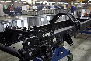 На автомобильном заводе «КАМАЗа» приступили к опытной сборке шасси для седельного тягача 54