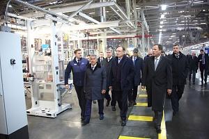 «КАМАЗ» в рамках рабочего визита в Набережные Челны посетила представительная делегация во главе с пол